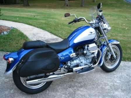 Moto Guzzi Bassa 1999 Blue two-tone
