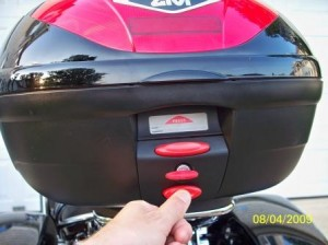 Givi Top Case Lock