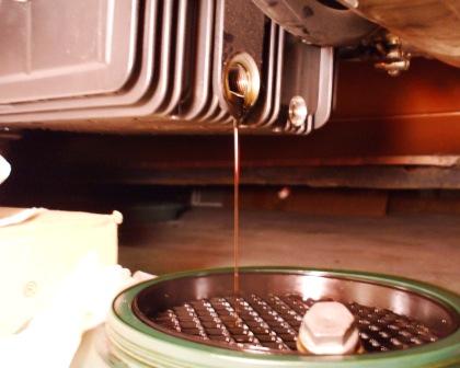 Moto Guzzi oil drain plug removal