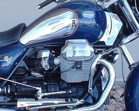 Moto Guzzi California EV 2004 with Hydraulic Tappets