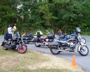 motorcycles used by marshals