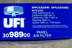 UFI 3098900 air filter for Moto Guzzi