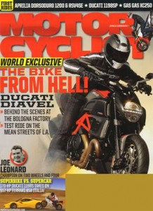 Motorcyclist magazine March 2011 issue