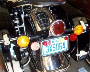 Moto Guzzi California Vintage with Duolamp tail light