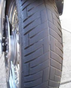 Metzeler Lasertec front tire 10k miles