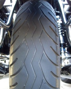 Metzeler Lasertec rear tire 10k miles