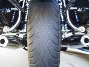 Moto Guzzi California rear tire Metzeler Lasertec 10k miles