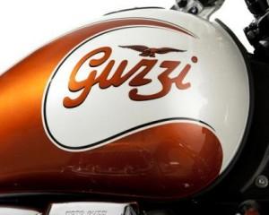 Guzzi California 90 tank logo