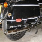 Moto Guzzi California extended exhaust