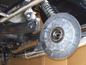 Moto Guzzi California shaft drive