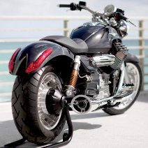 Moto Guzzi California 1400 rear wheel