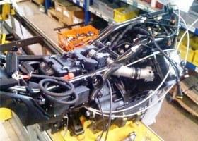 Moto Guzzi California 1400 chassis