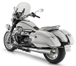 Moto Guzzi California 1400 white