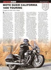 Cycle World February 2013 Moto Guzzi California review
