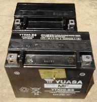 Replacement Battery Size for Guzzi California