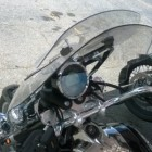 Moto Guzzi California with Givi Airflow Windshield