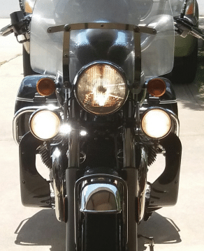 Philips MotoVision Low Beam on Moto Guzzi California Vintage